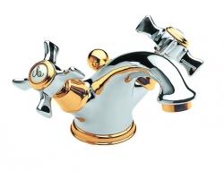 Смеситель для раковины Roca Florentina Gold 5072118AK