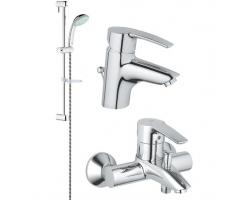 Комплект смесителей для ванной комнаты Grohe Eurostyle 116940