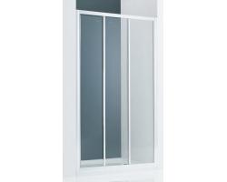 Дверь для душа SSWW LA61-Y32 L 140х195 (левая, прозрачное стекло, профиль серебристый глянец)