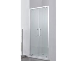 Дверь для душа SSWW LD60-Y22 80х195 (прозрачное стекло, профиль серебристый глянец)