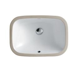 Раковина SSWW CL3080 56 см. (белая, встраиваемая под столешницу)