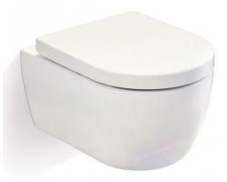 Унитаз подвесной SSWW CT2037 (белый, микролифт)