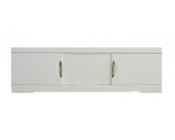 Экран для ванны раздвижной Style Line Глен 1600 белый глянец