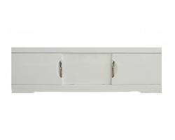 Экран для ванны раздвижной Style Line Глен 1700 белый глянец