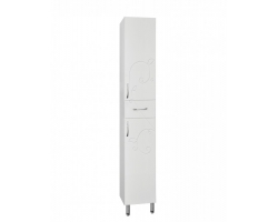 Пенал напольный Style Line Эко Фьюжн 36 ЛС-00000257 36 см. (белый)