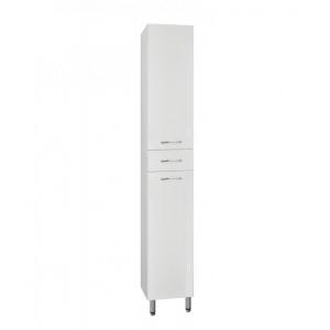 Пенал напольный Style Line Эко Стандарт 36 ЛС-00000194 36 см. (белый, с бельевой корзиной)