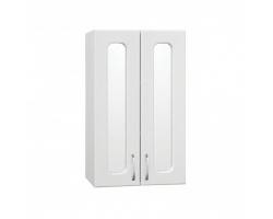 Шкаф подвесной Style Line Эко Стандарт 48 ЛС-00000352 48 см. (белый, зеркальная вставка)