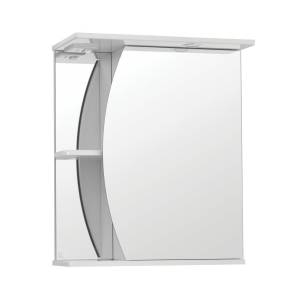 Зеркало-шкаф Style Line Эко Волна Камелия-600/С ЛС-00000122 60см. (белое)