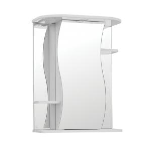 Зеркало-шкаф Style Line Эко Волна Лилия-550/С ЛС-00000119 55 см. (белое)