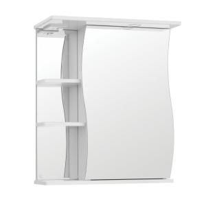 Зеркало-шкаф Style Line Эко Волна Волна-600/С ЛС-00000121 60 см. (белое)