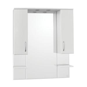 Зеркало-шкаф Style Line Эко Стандарт Энигма-900/С ЛС-00000174 90 см. (белое)