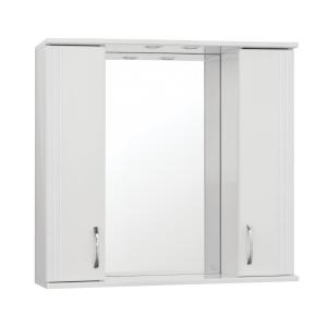 Зеркало-шкаф Style Line Эко Стандарт Панда-800/С ЛС-00000125 80 см. (белое)