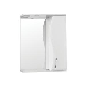Зеркало-шкаф Style Line Эко Волна Панда-60/С Волна ЛС-00000131 60 см. (белое)