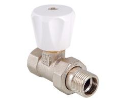 Клапан ручной Valtec VT.008.LN.04 1/2 (прямой)