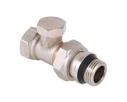Клапан настроечный Valtec VT.020.NR.04 1/2 (прямой, с дополнительным уплотнением)