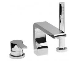 Смеситель для ванны на 3 отверстия Vega Alia 91А3005022