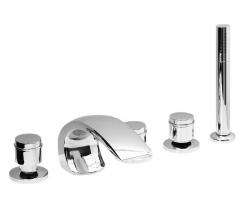 Смеситель для ванны на 5 отверстия Vega Arco Lux 91А0202025