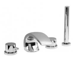 Смеситель для ванны на 4 отверстия Vega Arco Lux 91А1695125