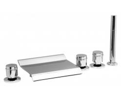 Смеситель для ванны на 5 отверстия Vega Grand Lux 91А0105025
