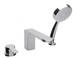 Смеситель для ванны на 3 отверстия Vega Mood 91A3015022