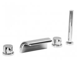 Смеситель для ванны на 4 отверстия Vega Onda Lux 91А1715125