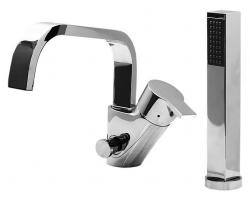 Смеситель для ванны на 2 отверстия Vega Square CU.2500.CR (хром глянец, врезной на борт ванны)