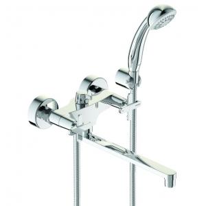 Смеситель для ванны Vidima Art BA330AA (хром глянец, с душевым комплектом)