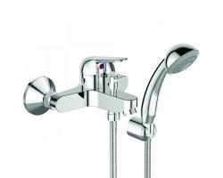 Смеситель для ванны Vidima Fine BA388AA (хром глянец, с душевым комплектом)