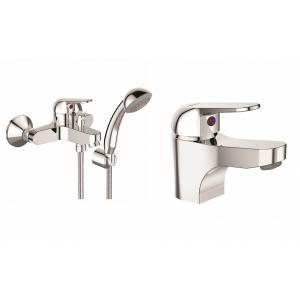 Комплект смесителей для ванной комнаты Vidima Fine BA424AA