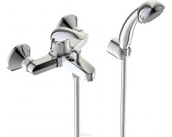 Смеситель для ванны Vidima Orion BA004AA (хром глянец, с душевым комплектом)