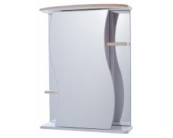 Зеркало-шкаф Vigo Alessandro 55 см. 3-550 (№11-550, бежевое)