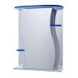 Зеркало-шкаф Vigo Alessandro 55 см. 3-550 (№11-550, синее)