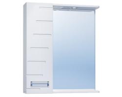 Зеркало Vigo Diana 600 60 см. (№18-600Л, белое, левое)