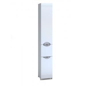 Пенал Vigo Jika 30 30 см. (П5К, белый, с бельевой корзиной)