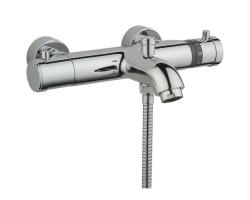 Смеситель термостатический для ванны Vitra Aquaheat A47174EXP (хром глянец)