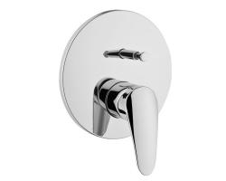 Смеситель для ванны Vitra Vitra Dynamic S A42211EXP (хром глянец, внешняя часть, скрытого монтажа)