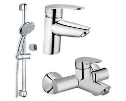 Комплект смесителей для ванной комнаты Vitra Dynamic S A49152EXP (хром глянец)