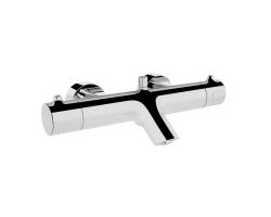 Смеситель для ванны термостатический Vitra Nest Trendy A47099EXP (хром глянец)