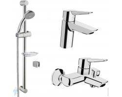Комплект смесителей для ванной комнаты Vitra Solid S A49227EXP (хром глянец)