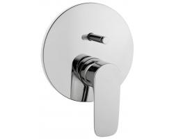 Смеситель для ванны Vitra X-Line A42251EXP (хром глянец, внешняя часть, скрытого монтажа)