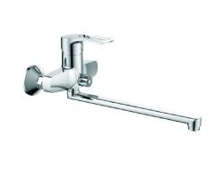 Смеситель для ванны Voda List LS 31 (хром глянец, с душевым комплектом)