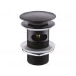 Донный клапан WasserKraft Push-up A047 (тёмная бронза, click-clack)