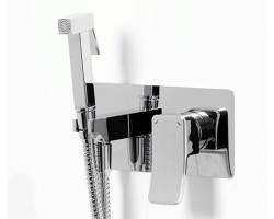 Комплект для гигиенического душа WasserKraft Aller 10638 (хром глянец, скрытое подключение)