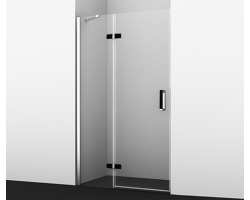 Дверь для душа Wasser Kraft Aller Black 10H05L 120x200 120х200 см. (левая)