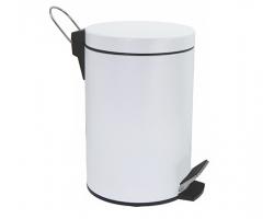 Ведро для мусора Wasser Kraft Aller 5L К-635WHITE (белое)