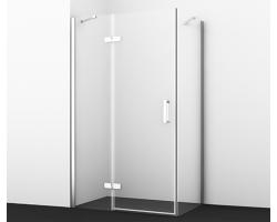 Душевой уголок Wasser Kraft Aller White 10H10L 120x100 120х100 см. (левый)