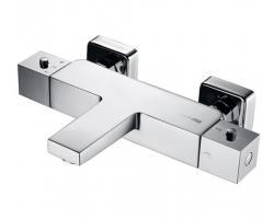 Смеситель для ванны термостатический WasserKraft АIme 1511 Thermo (хром глянец)