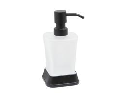 Дозатор для жидкого мыла Wasser Kraft Amper K-5499BLACK (чёрный)