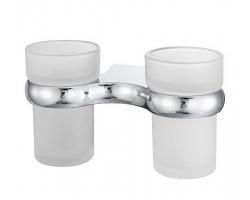 Подстаканник двойной стеклянный Wasser Kraft Berkel K-6828D