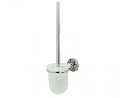 Щетка для унитаза подвесная WasserKraft Diemel K-2227 (хром глянец)